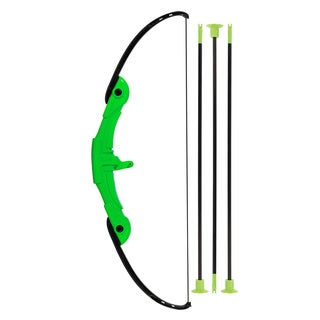 Franklin Sports Green Plastic Hanging Archery Set
