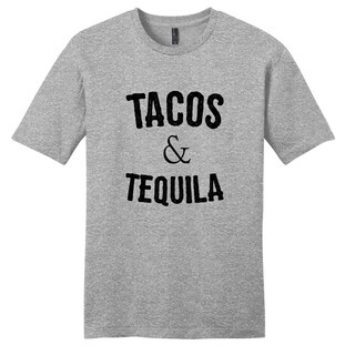 Tacos & Tequila' Funny Drinking Unisex T-shirt