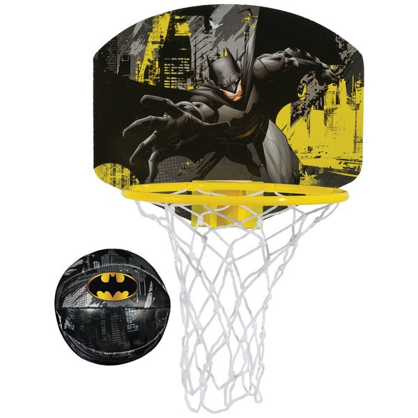 Franklin Sports Batman Multi-color Plastic Soft Sport Hoops Set