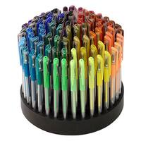 ECR4Kids GelWriter Assorted Coloring Pens in Rotating Artist Stand (Case of 100)