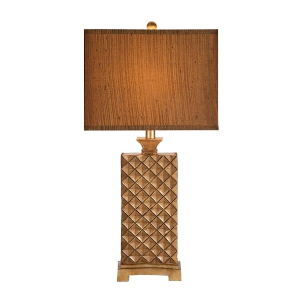 Catalina Brown Resin Silk 3 Way Table Lamp 18919490