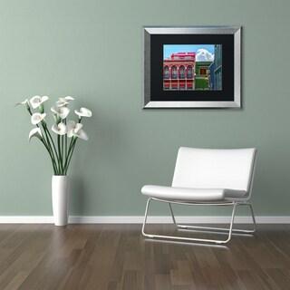 CATeyes 'Old San Juan 10' Matted Framed Art