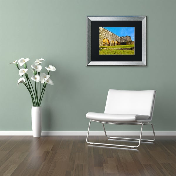 CATeyes 'Castillo San Cristobal' Matted Framed Art