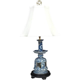 Blue and White Bell Porcelain Lamp