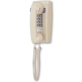 Cortelco 2554 Wall-mounted Corded One-line Phone with Volume Control