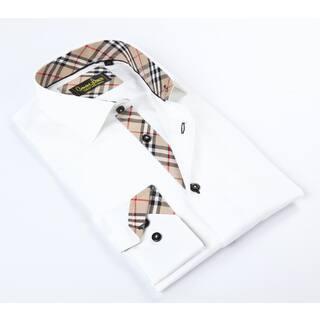 Banana Lemon Classic White Button-up Dress Shirt https://ak1.ostkcdn.com/images/products/12049869/P18919554.jpg?impolicy=medium