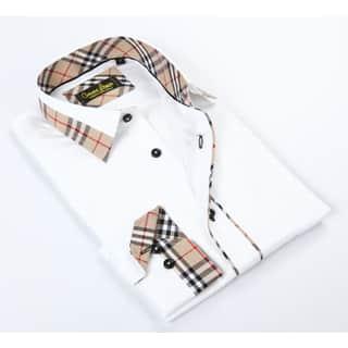 Banana Lemon Classic White Button-up Dress Shirt|https://ak1.ostkcdn.com/images/products/12049928/P18919657.jpg?impolicy=medium