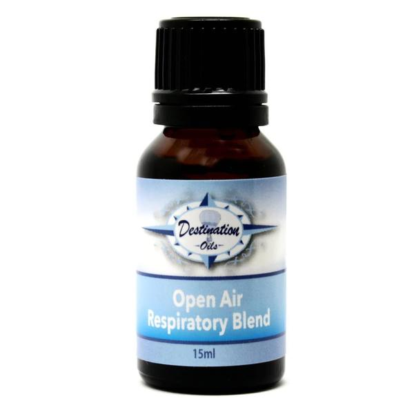 """Open Air""- Respiratory Essential Oil Blend- 15ml"