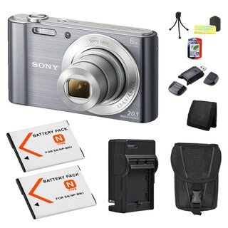 Sony Cyber-shot DSC-W810 Digital Camera Bundle