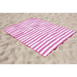 "J&M Home Fashions 60""x78"" Beach Mat For Two"