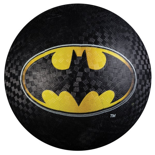 Franklin Sports Black Rubber 8.5-inch Batman Playground Ball