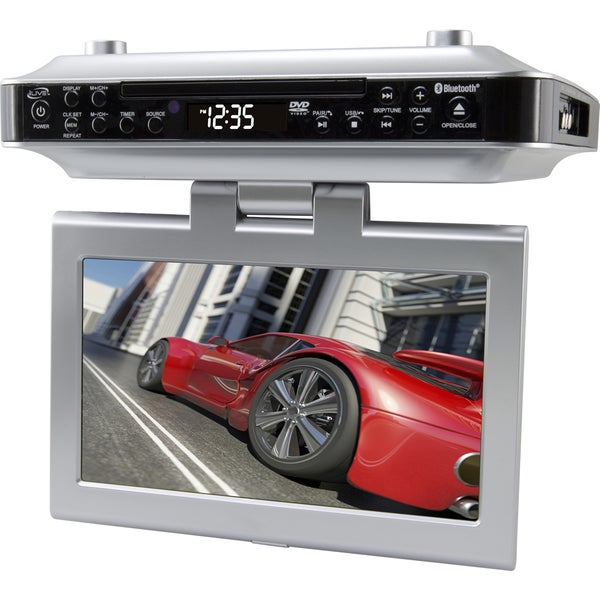 Shop Ilive Under The Cabinet Tv Fm Bluetooth Cd Player