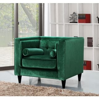 Meridian Taylor Green Velvet Chair