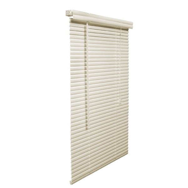 1 Inch Vinyl Plus 31 To 40 Wide Fade Resistant Alabaster Blinds On Free Shipping Orders Over 45 12050485