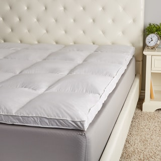 Link to Hotel Madison Cotton Uncrushable 2-Inch Gusset Baffle Box Featherbed Similar Items in Mattress Pads & Toppers