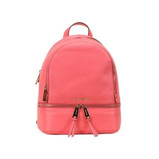 Michael Kors Coral Rhea Zip Small Fashion Backpack
