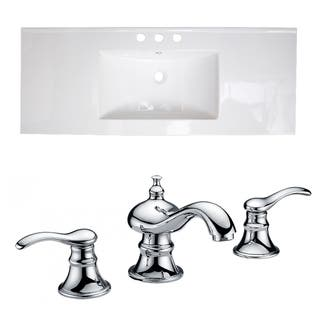 48-in. W x 18-in. D Ceramic Top Set In White Color With 8-in. o.c. CUPC Faucet|https://ak1.ostkcdn.com/images/products/12050776/P18920480.jpg?impolicy=medium