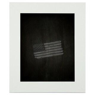 American Made Rayne Delta White Blackboard/ Chalkboard