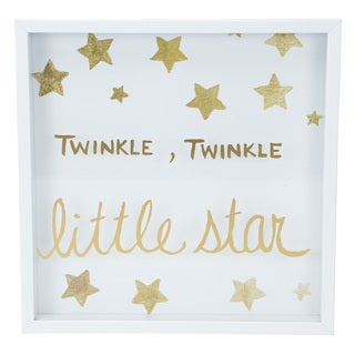 Boston Warehouse 'Twinkle, Twinkle Little Star' Framed Art Print