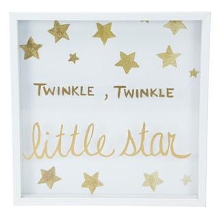 Boston Warehouse 'Twinkle, Twinkle Little Star' Framed Art Print