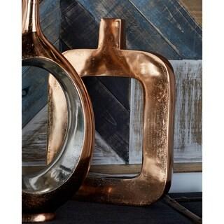 Copper-fInish Aluminum Table Vase