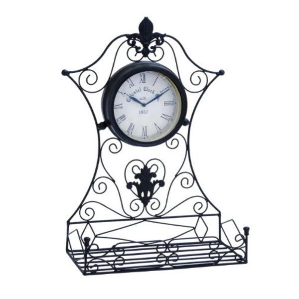 Epoch Metal Outdoor Clock