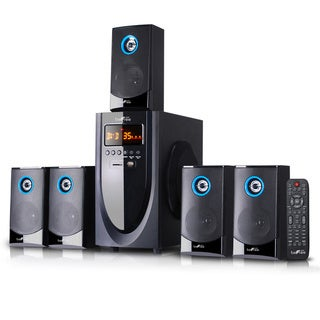 Link to beFree Sound 5.1 Channel Surround Sound Bluetooth Speaker System Similar Items in Home Theater