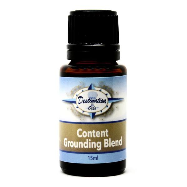 Content Grounding for Balance and Centering Pure Essential Oil 15ml Blend