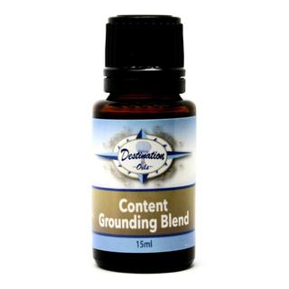 """Content"" Grounding Essential Oil Blend for Balance and Centering"