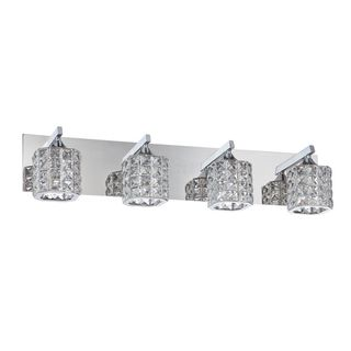 Ross 4-Light Chrome Bath Vanity