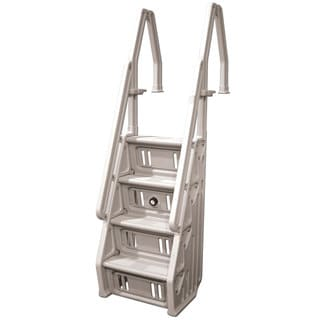Vinyl Works Deluxe Above-ground In-pool 24-inch Step Ladder