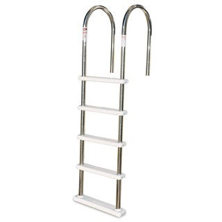 Swimline Stainless Steel/ABS 5-step Above Ground Pool Ladder