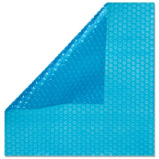 Blue 8-mil. Swimming Pool Solar Cover Blanket