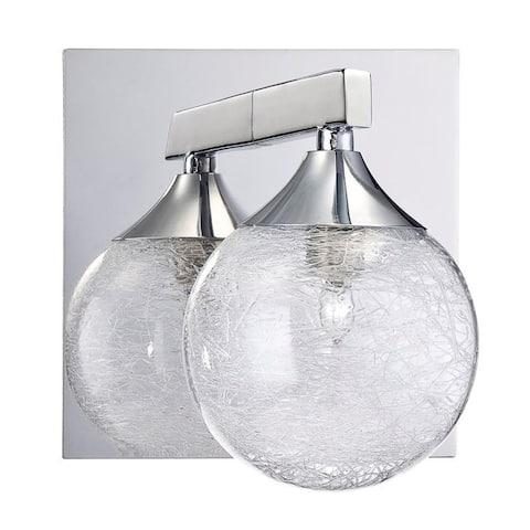 Hank 1-Light Chrome Bath Vanity