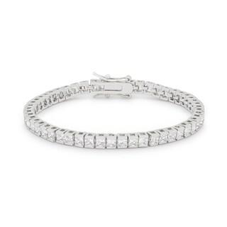 Kate Bissett Princess 10.8-carat Cubic Zirconia Tennis Bracelet