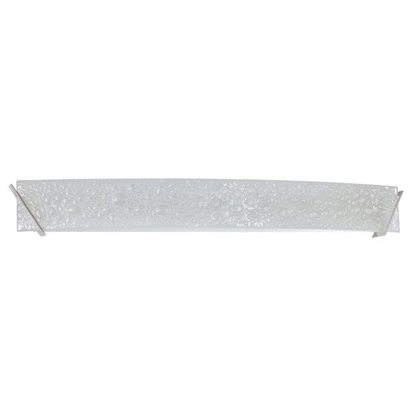 Mia 7 Light Satin Nickel Bath Vanity Silver
