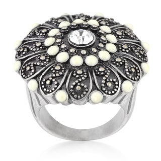 Kate Bissett Antique Silver Crest Ring II