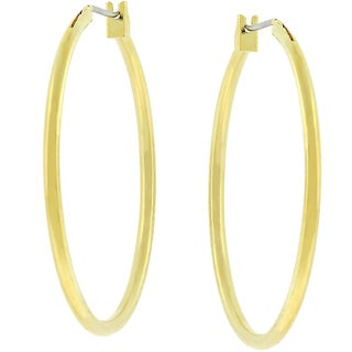 Kate Bissett Basic Golden Hoop Earrings