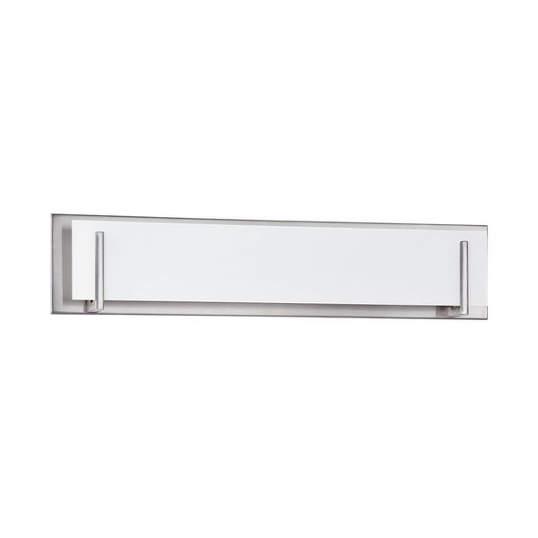 Doug 5-Light Satin Nickel Bath Vanity - Silver. Opens flyout.