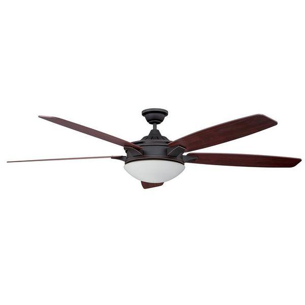 Shop Iris 1-Light 70-in. Ceiling Fan
