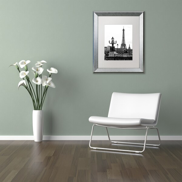 Philippe Hugonnard 'Paris Romantic' Matted Framed Art