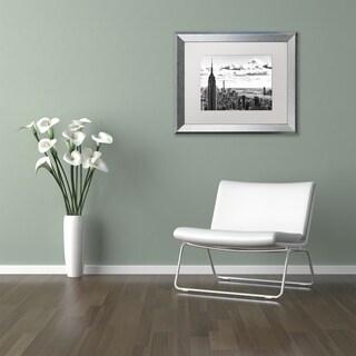 Philippe Hugonnard 'NY Cityscape' Matted Framed Art