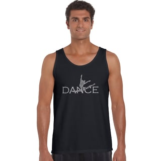 Los Angeles Pop Art Men's Dancer Cotton Tank Top