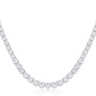 Kate Bissett Graduated Cubic Zirconia Necklace