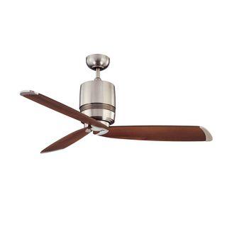 Ruth 1-Light 52-in. Satin Nickel  Ceiling Fan