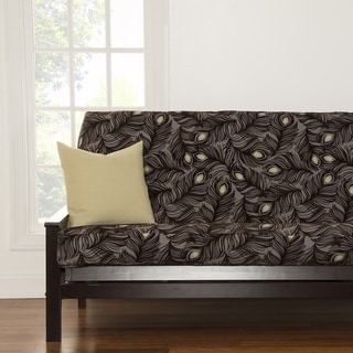 Plush Plumes Full-size Futon Cover