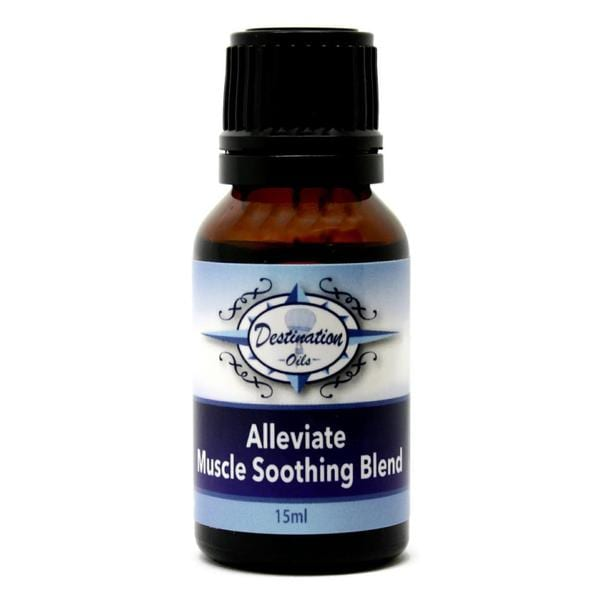 Alleviate- Muscle Soothing Essential Oil 15ml Blend by Destination Oils