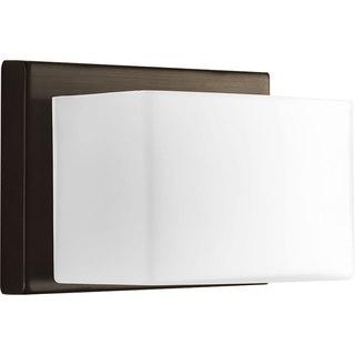 Progress Lighting P2142-2030K9 Steel 1-light Bath with AC LED Module