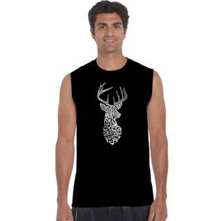 Men's SXDEER Cotton Types of Deer Sleeveless T-shirt