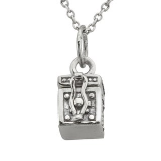 Haven Park Mini Coffin Pendant Necklace